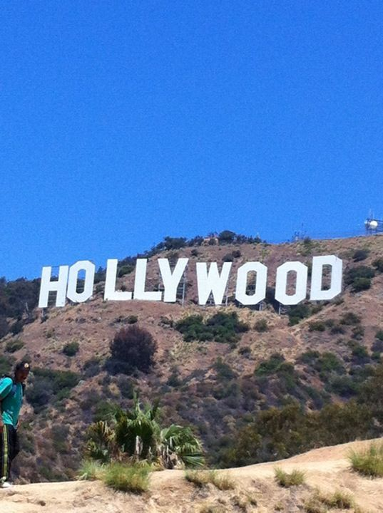 Make sure to check out the Hollywood sign!