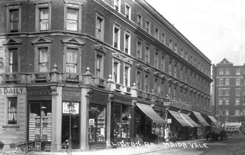 Clifton Road, Little Venice - old photo.