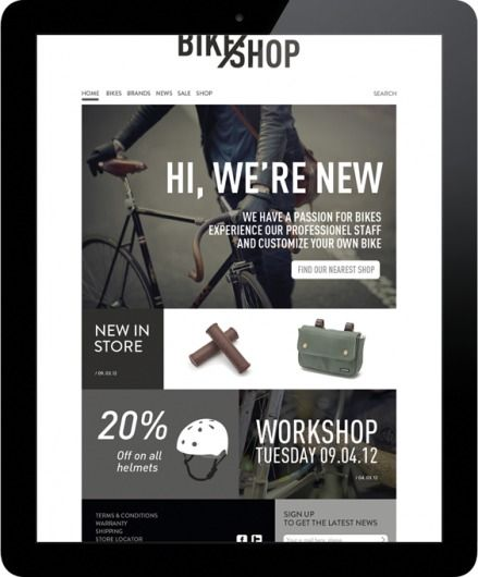 25 magnificent web designs   From up North — Designspiration