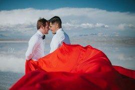 Uyuni Pre-wedding PhotoshootPkl Fotografía © Pankkara Larrea…