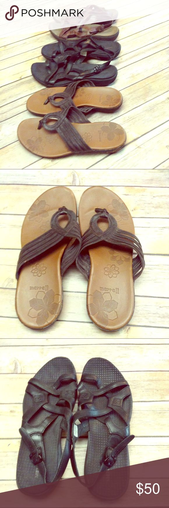 Merrill shoe bundle Price firm. Good used condition as pictured. Merrell Shoes Sandals