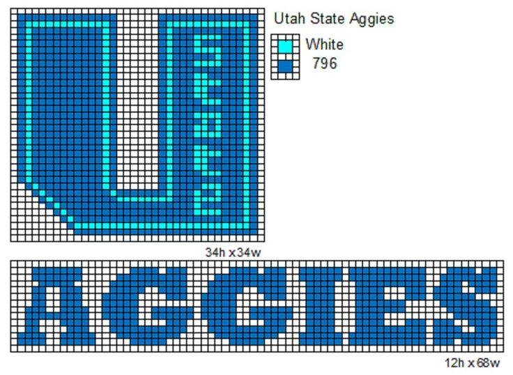 Utah State Aggies by cdbvulpix.deviantart.com on @deviantART