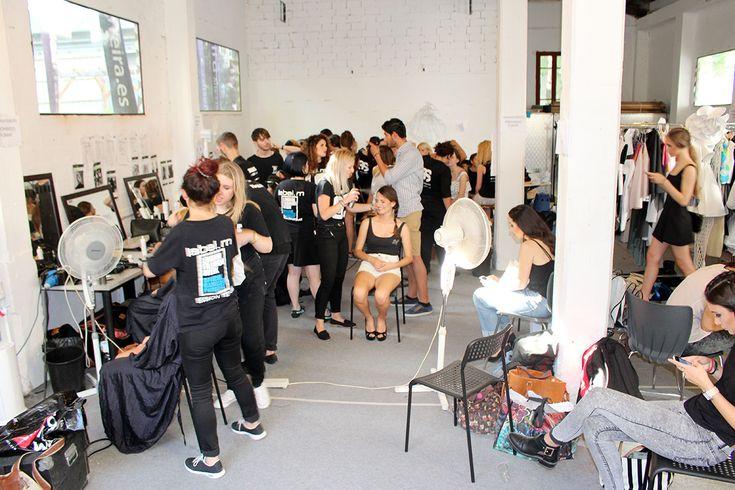Modelos Pasarela Barreira 2015 Backstage