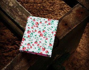 Mini caderno floral