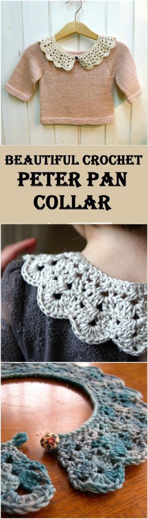Learn to Crochet Peter Pan Collar
