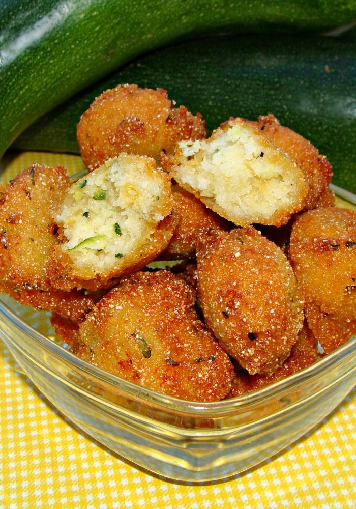 Zucchini Hushpuppies - just an excuse to eat fried things but totally down for that