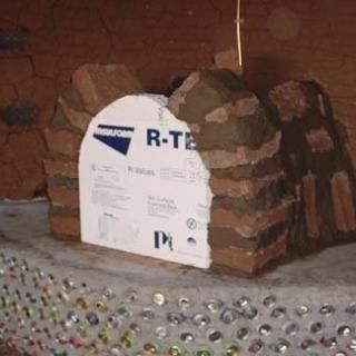 Earthship Fireplace | Earthship - Building adobe fireplaces