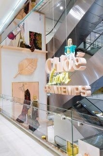 Chloé Pop up store at Printemps Paris