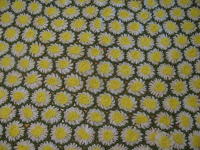 Ravelry: Wildflower Afghan/ Flower Loom Afghan pattern