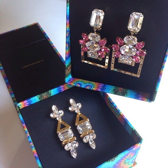 Our divine Anouk and Luella earrings off to some lovely customers