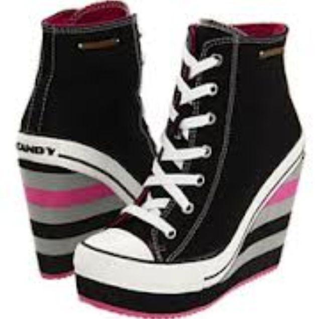 converse sneaker wedges