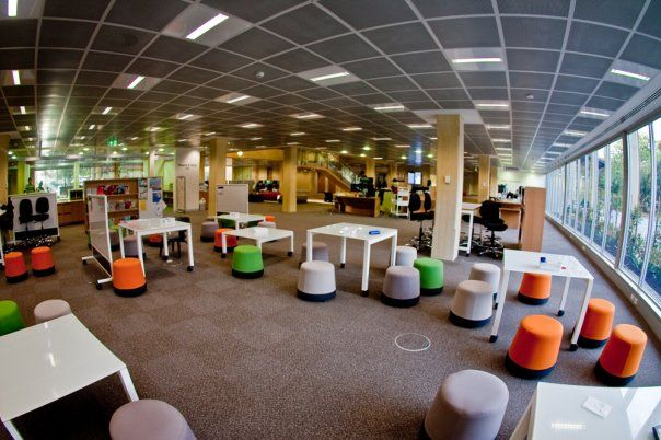 UWA Science Library (fit-out by Burgtec)