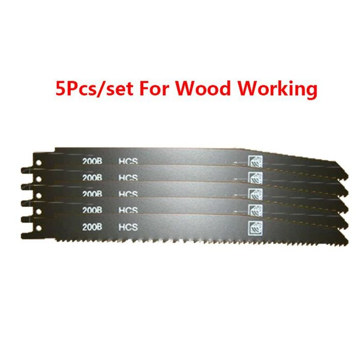 5piececs/set 200mm HSS Reciprocation Saw Jig Saw Blade //Price: $25.02 & FREE Shipping //     #wood drills  #CARVING CHISEL  #Double Feather   #Board Router   #Drill Chuck Screwdriver   #Drill Bit