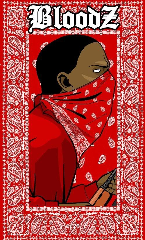 Crips And Bloods Bandanas