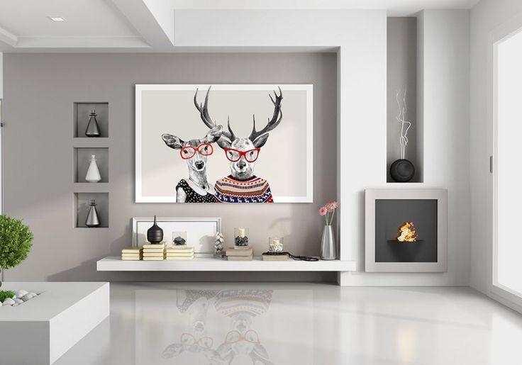 OBRAZ NA PŁÓTNIE 120x80cm LOVE 02-61 (proj. TUTEKdezign), do kupienia w DecoBazaar.com