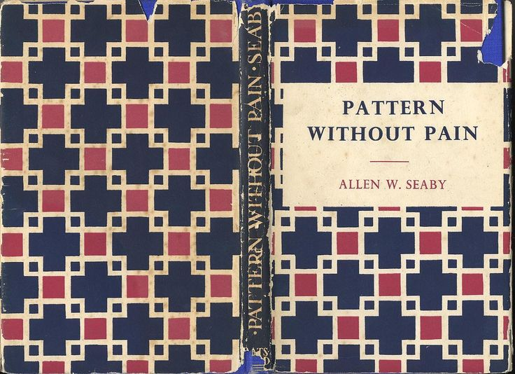 Cover of Pattern Without Pain, 1948.
