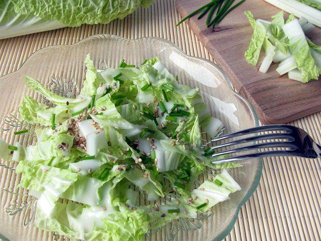 Восточный салат из пекинской капусты – легкость в твоей тарелке и на талии!