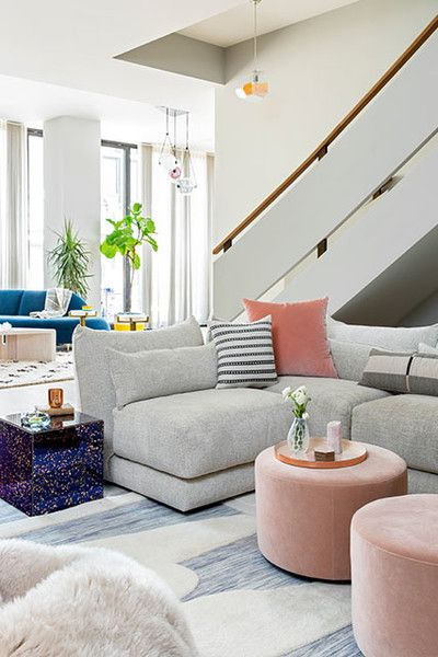 Blushing Beauties - This Sprawling NYC Apartment Is An Entertainer's Dream - Photos