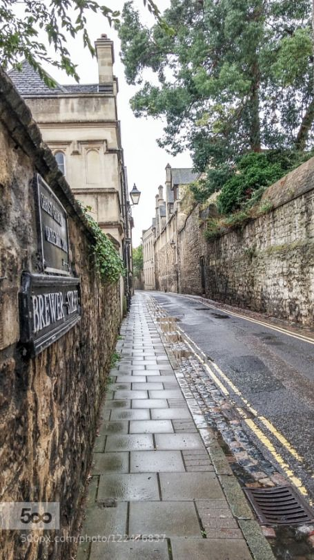Brewer St, Oxford. England.-