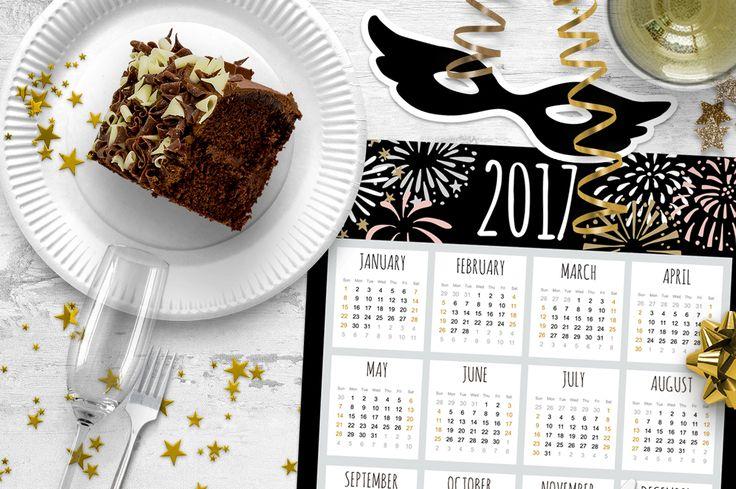 Free calendar 2017, freebie for download