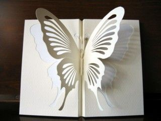 Kirigami - Monarch Butterfly:
