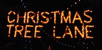 Christmas Tree Lane (Fresno, CA) spans nearly 2 miles, 140 homes, and over a million lights.