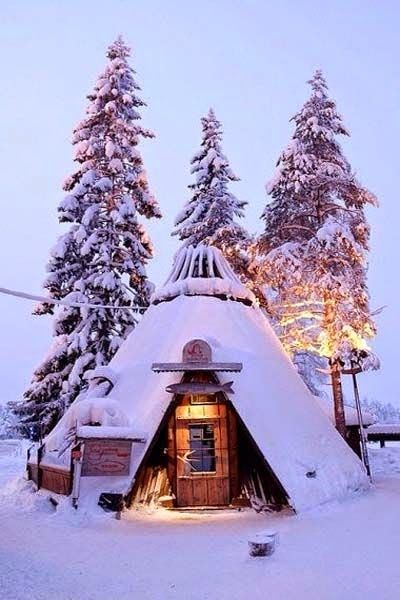 Winter : Kittila, Lapland, Finland                                                                                                                                                                                 More