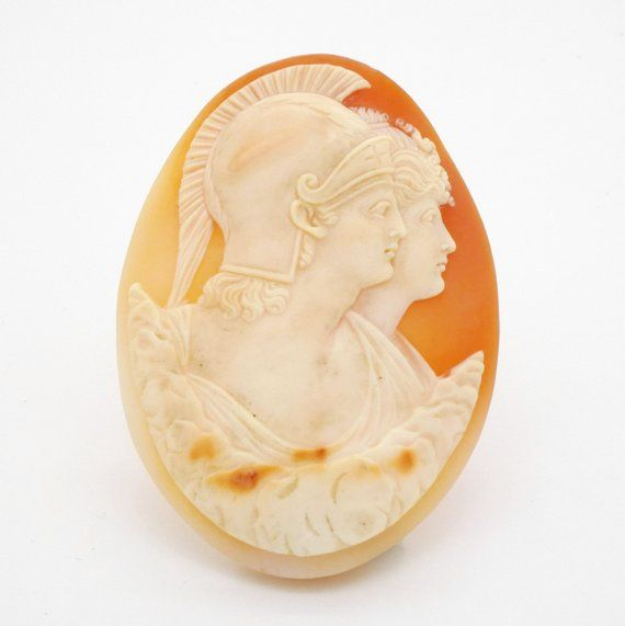 Victorian Jewelry Cameo Brooch Antique Cameo Carved Shell Cameo Pin 1800s Jewelry Cameos Edwardian Jewelry Vintage Cameo