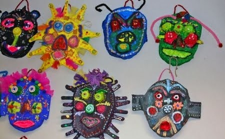 http://2.bp.blogspot.com//como-hacer-mascaras.jpg: Hacer Mascaras, Art Lessons, Mache Masks, Masks Sunglasses, Art Class, Finn Art, Projects Masks, Art Projects, Preschool Art