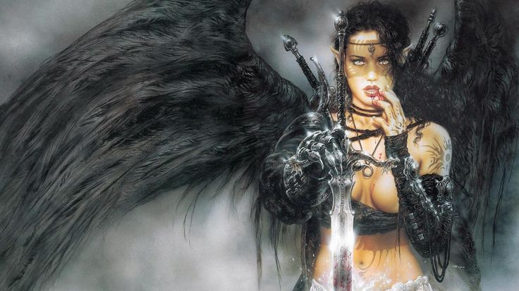 Warrior Angel | ... Warrior Angels Dark Angel 1366x768 | #186464 #warrior angels