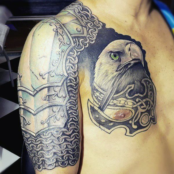 Best 20 body armor tattoo ideas on pinterest armor for Tattoo shops anderson indiana