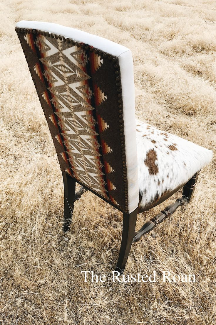 Pendleton Cowhide Upholstered Chair- The Rusted Roan  Pendleton Chair Cowhide Chair Upholstered Chair Pendleton Upholstery. Pendleton Furniture Cowhide Furniture Western Furniture Western Decor Southwest Furniture  The post Pendleton Cowhide Upholstered Chair- The Rusted Roan appeared first on Upholstery Ideas.