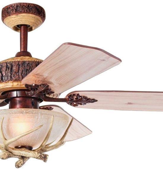 Rustic Ceiling Fans Deep Discount Lighting Rustic Ceiling Fan