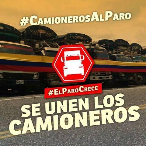 EL HUMANITARIO ISSN 1900-7183 Periodismo libre e independiente: Diferentes asociaciones de camioneros de Colombia,...
