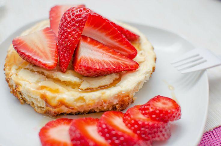 Proteinové muffiny/cheesecake