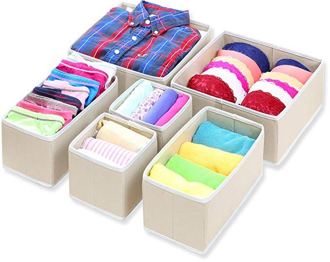 Amazon Com Simple Houseware Foldable Cloth Storage Box Closet