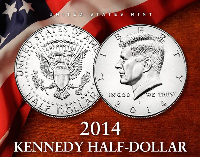 SOLD OUT 2014 Kennedy Half-Dollar