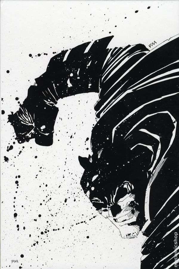Frank Miller Puts More Dark Knight Art Up for Auction