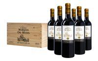 Château Marquis de Mons Grand Cru Saint-Emilion Bordeaux Frankrijk Kist  De wijngaard van Marquis de Mons ligt op het kalkhoudende klei plateau van Saint-Hippolyte. Hier wordt gewerkt met lage rendementen voor een laag volume en een hoge fruitintensiteit. Dat vertaalt zich in een indrukwekked boterzachte 11 jaar oude Grand Cru bekroond met goud! Nu ook opkist.  EUR 25.00  Meer informatie  #witte #rode #rose #wijn #wijnbeurs #geschenk #cadeau #kado #shiraz #chardonnay #sauvignon #pinot blanc…