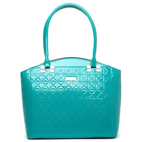 Serenade Leather - Geometic Handbag
