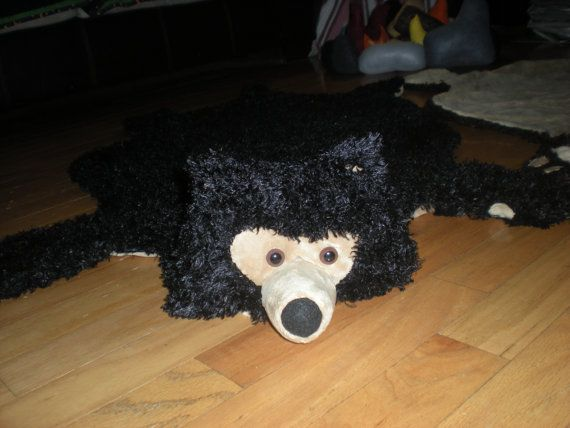 Bear Skin Rug  blanket throw costume or make believe.