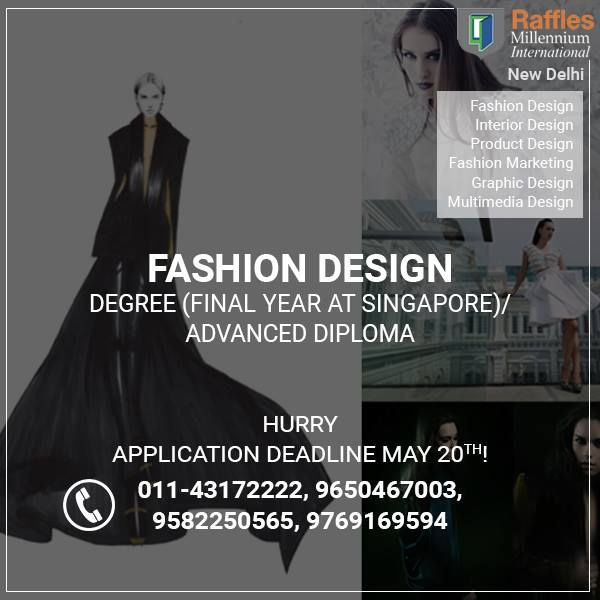 Looking for #FashionDesigningColleges in Delhi. Know about Courses, Fee & other facilities http://raffles-millennium-delhi.com/delhi/fashion-design/