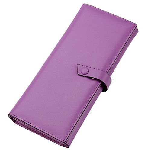 New Trending Purses: ZORESS Womens RFID Blocking Wallet Large Capacity Luxury Soft Genuine Leather Cluth Ladies Purse Card Holder (Purple). ZORESS Women's RFID Blocking Wallet Large Capacity Luxury Soft Genuine Leather Cluth Ladies Purse Card Holder (Purple)   Special Offer: $26.99      377 Reviews ★QUALITY: 100% top quality genuine leather,feels soft and comfortable ,handmade by the finest craftsmanship.★STRUCTURE: 11...