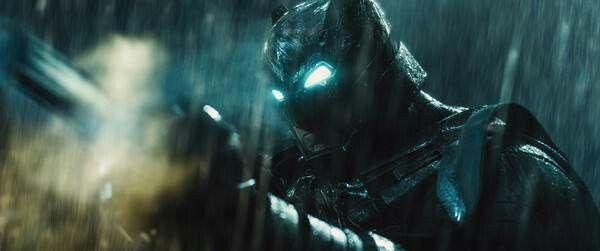 Batman Armored in Batman v Superman