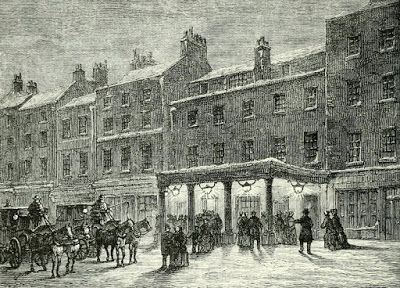 Old Haymarket Theatre from Old and New London (1873)
