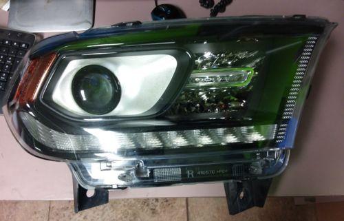 Dodge Durango Lh Xenon Headlight 14 15 16 2014 2015 2016 Xenon Headlights Dodge Durango Headlights
