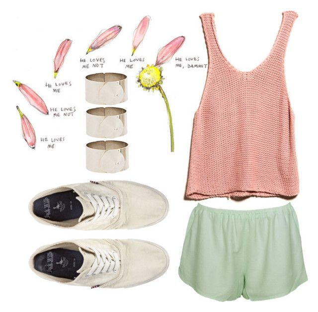i wish we could be holding hands by briegreco on Polyvore featuring polyvore moda style Elizabeth and James Jack Wills ASOS fashion clothing stackable rings loose shorts loose tank tops high top sneakers