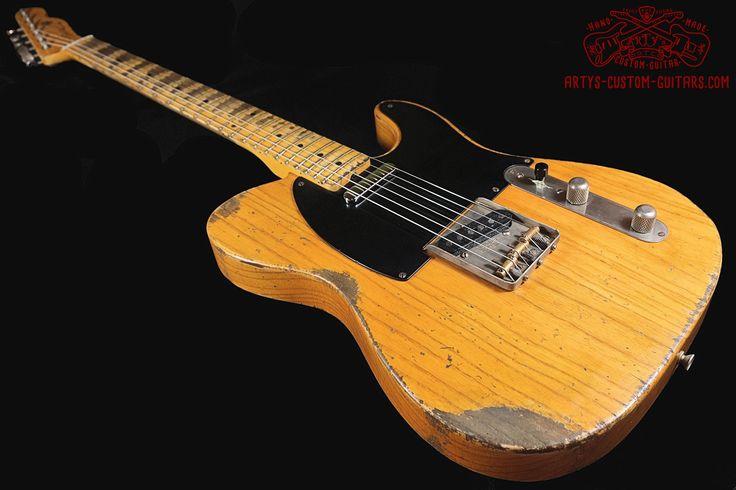 Arty U0026 39 S Relic Aged Custom Shop Guitars  Parts  Necks And