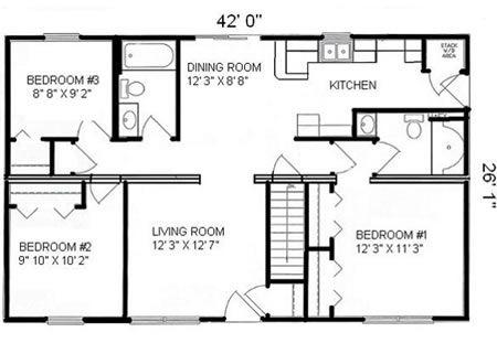 R109232-2 by Hallmark Homes Ranch Floorplan