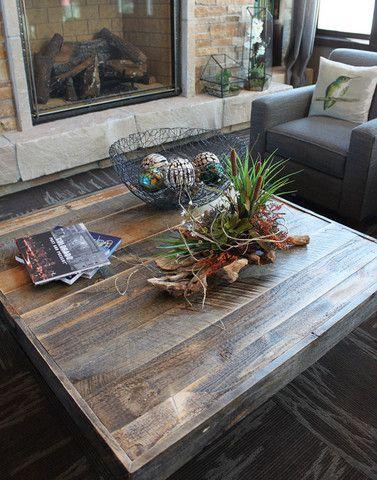 Reclaimed Wood Coffee Table | JW Atlas Wood Co.
